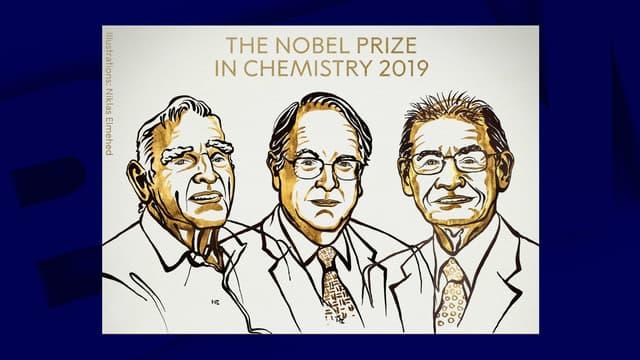 John B. Goodenough, M. Stanley Whittingham et Akira Yoshino, les trois prix Nobel de chimie 2019