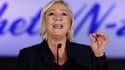 Marine Le Pen à Bruxelles le 8 décembre 2018.