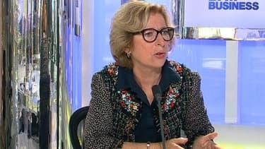 Geneviève Fioraso, la ministre de l'Enseignement supérieur, était l'invitée de BFM Business, jeudi 18 juillet.