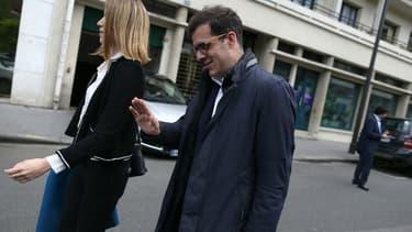 Ismaël Emelien, le 13 mai 2017 à Paris.