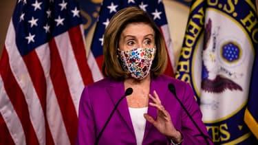 La présidente démocrate de la Chambre des représentants Nancy Pelosi