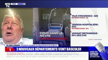 """Covid-19: le président du département de la Nièvre assure que """"la situation est hors de contrôle"""""""
