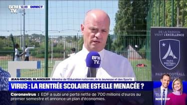 """Coronavirus: Jean-Michel Blanquer évoque """"trois scénarios"""" pour la rentrée"""