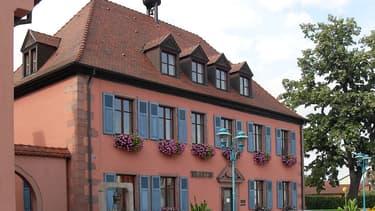 La commune de Bollwiller, en Alsace
