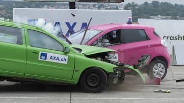 L'assureur a mené une étude sur l'accidentologie des voitures électriques.