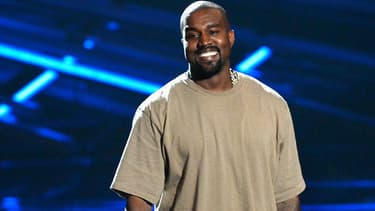 Kanye West lors des MTV Video Music Awards en 2015