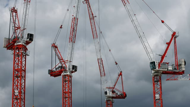 Le chantier du futur TGI, le 6 mai 2015