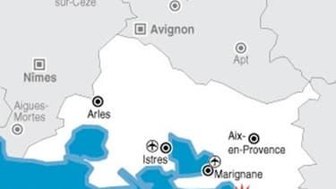 EXPLOSION SUR UN CHANTIER DU PORT DE MARSEILLE