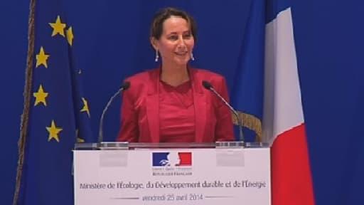 """Ségolène Royal veut que les Français """"ressentent le plus vite possible"""" la transition énergétique."""