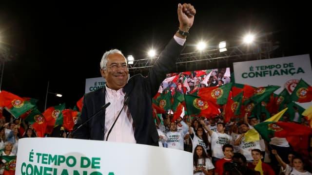Antonio Costa, le leader du Parti Socialiste au Portugal