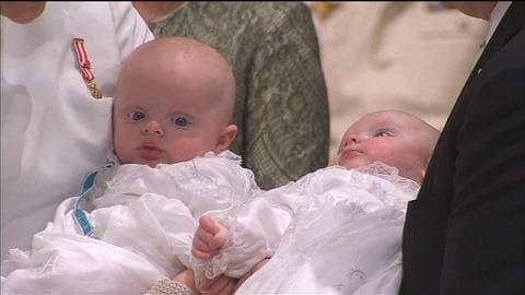 Baptême des jumeaux princiers: l'enthousiasme des Monégasques