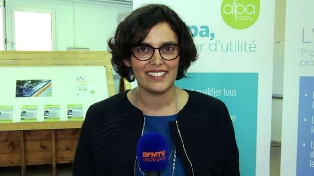 """Myriam El Khomri a jugé que cette baisse du chômage devait """"s'inscrire dans la durée"""""""