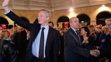 Bruno Le Maire et Alain Juppé
