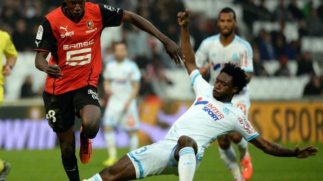 Abdoulaye Doucouré, buteur face à l'OM