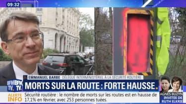 """Pour le délégué interministériel à la sécurité routière, """"la destruction des radars a entraîné des morts""""."""