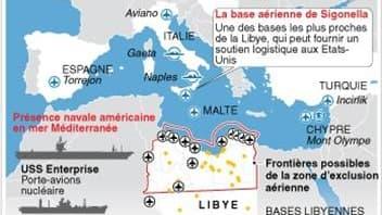 L?OTAN AUTOUR DE LA LIBYE