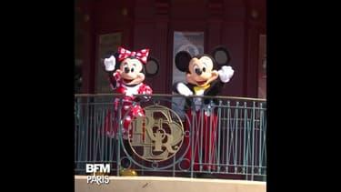 Masque obligatoire et selfies à distance: Disneyland Paris rouvre ses portes ce mercredi