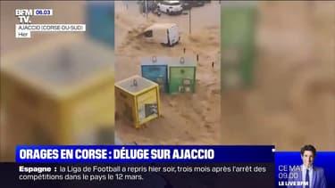 Un orage stationnaire responsable du déluge et des impressionnantes inondations à Ajaccio