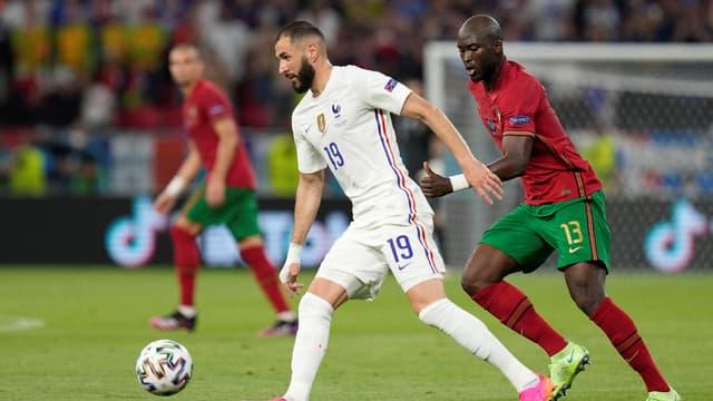 Benzema lors de Portugal-France