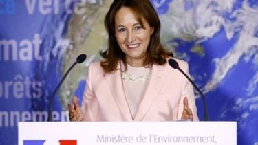 Ségolène Royal, le 5 janvier 2017, à Paris.