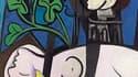 """Le tableau """"Nu au plateau de sculpteur"""" (""""Nude, Green Leaves and Bust"""") de Pablo Picasso, peint en 1932, s'est vendu aux enchères mardi pour 106 millions de dollars chez Christie's, un record pour une oeuvre d'art. /Photo prise le 4 mai 2010/REUTERS/CHRIS"""