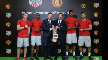 Tag Heuer a noué un partenariat de trois ans avec le prestigieux club de football de Manchester United.