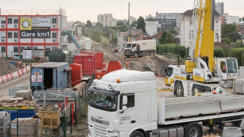 La Courneuve: un ouvrier meurt sur le chantier de la ligne 16 du métro