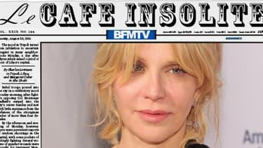 Courtney Love, chanteuse veuve de Kurt Cobain a retrouvé la trace du vol MH370.