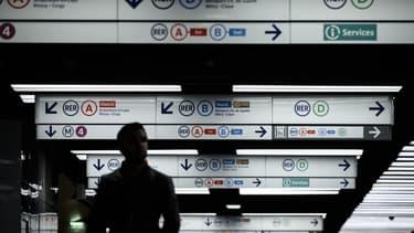 La station Châtelet, au cœur de Paris.