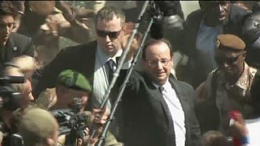François Hollande est arrivé au Mali jeudi 19 septembre