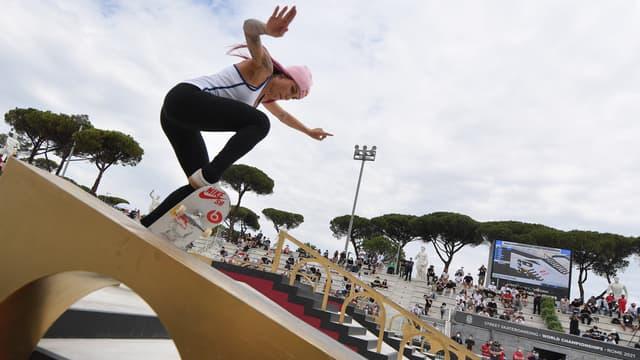 La Brésilienne Leticia Bufoni, parmi les favorites de l'épreuve de street