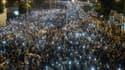 Des dizaines de milliers de manifestants prodémocratie ont transformé le centre de Hong Kong lundi soir en une grande fête de rue.