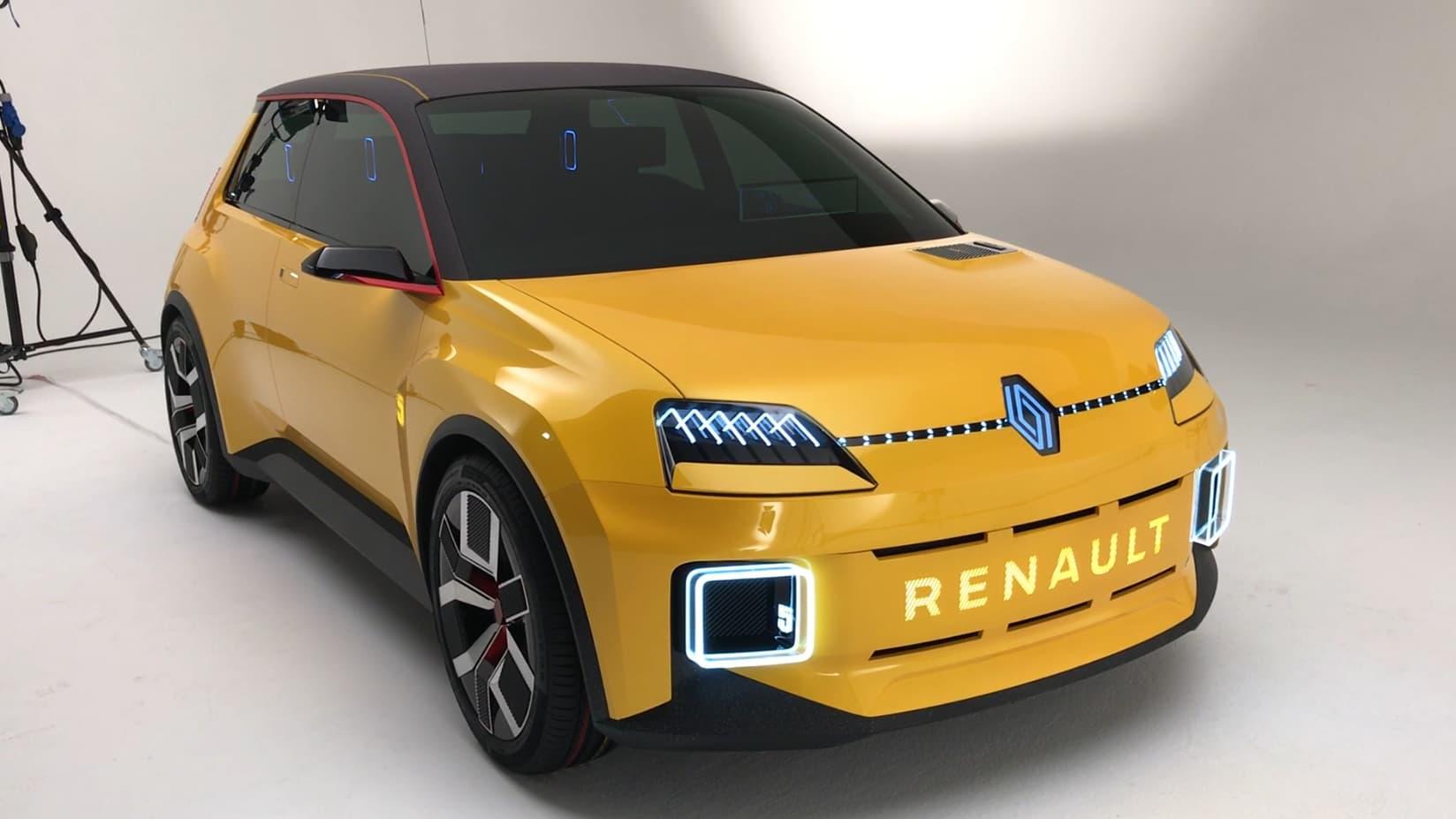 Concept R5: Renault se lance dans le rétro-futurisme - BFMTV