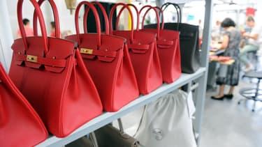 En boutique, le prix moyen d'un Birkin est de 6.500 euros. Mais ils sont rares.