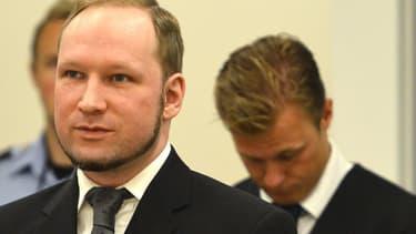 Anders Breivik, lors de son procès.