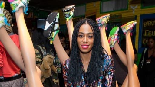 La chanteuse Solange Knowles, modeuse hyper pointue, devient consultante artistique chez Puma.