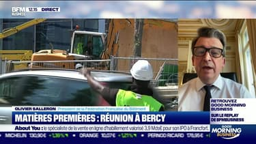 Olivier Salleron (FFB) : Matières premières, réunion à Bercy - 15/06