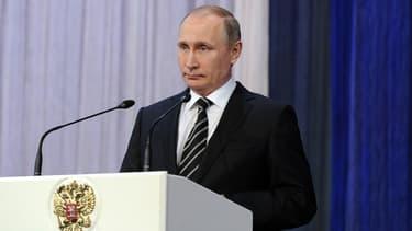Vladimir Poutine, le 20 février 2016.