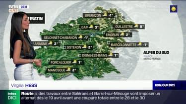 Météo Alpes du Sud: un temps mitigé ce lundi après-midi