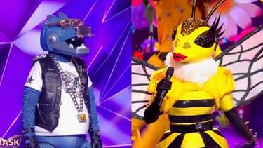 Le Dinosaure et l'Abeille de Mask Singer sur TF1