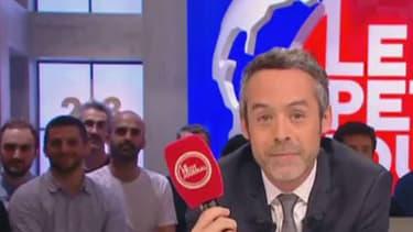 """Yann Barthès a présenté sa dernière du """"Petit Journal"""" le jeudi 23 juin 2016"""