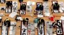 Plusieurs milliers de Japonais de tous âges se sont retrouvés jeudi à Tokyo pour le traditionnel concours de calligraphie organisé chaque nouvelle année au Japon. Les participants ont tracé sur le papier leurs résolutions, leurs voeux ou leurs espoirs pou