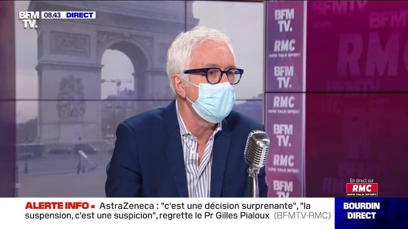 Selon le Pr Gilles Pialoux, les évacuations sanitaires