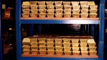 L'Angleterre possède plus de 10% du stock d'or allemand.