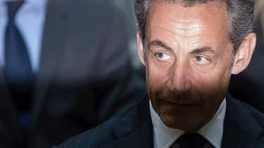 Nicolas Sarkozy lors d'un déplacement à Berlin le 28 février dernier.