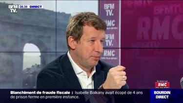 """Écologie: pour Yannick Jadot, Emmanuel Macron """"est prisonnier de la même logique"""" que François Hollande"""