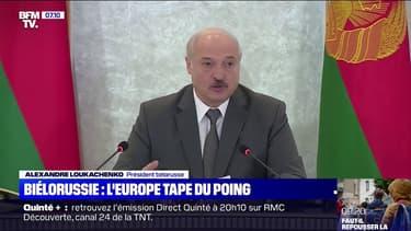 """Biélorussie: l'UE rejette le résultat de la présidentielle, Loukachenko dénonce un """"détournement d'attention"""""""