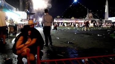 Une fusillade a ensanglanté Las Vegas, tard dimanche soir.