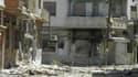 """A Al Khalidieh, près de Homs. Les observateurs de l'Onu estiment que les forces gouvernementales syriennes ont commis des violations des droits de l'homme, y compris des exécutions dans l'ensemble du pays, """"d'une ampleur alarmante"""" au cours des trois dern"""