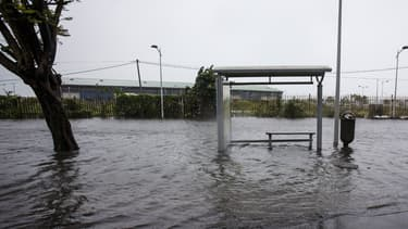 Il y a eu d'importantes inondations en Guadeloupe.